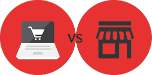 Online Shopping compare with Offline Shopping